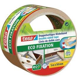 tesa Doppelklebeband ECO FIXATION, sk, 50 mm x 5 m