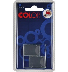 COLOP Ersatzkissen E/4910, blau