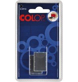 COLOP Ersatzkissen E/4910, schwarz
