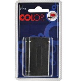 COLOP Ersatzkissen E/4913, schwarz