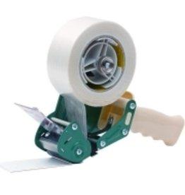 Pressel Handabroller, für Klebebänder bis 50 mm x 200 m, weiß/grün