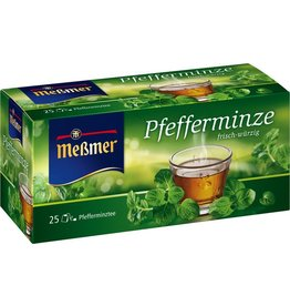 Meßmer Kräutertee Pfefferminz, Btl. kuv., Kart., 25x2,25g
