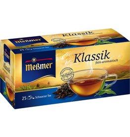 Meßmer Schwarztee Klassik, Btl. kuv., Kart., 25x1,75g