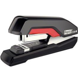 Rapid Heftgerät Supreme S50, für: 24/8+ + 26/8+, 50 Blatt, schwarz/rot