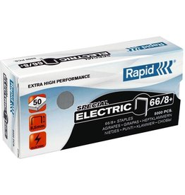 Rapid Heftklammer, ELECTRIC, 66/8+, verzinkt