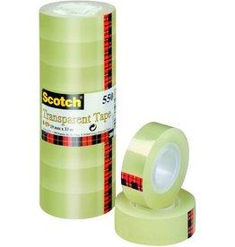 Scotch Klebeband 550, sk, 19mmx33m, transparent