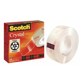 Scotch Klebeband Crystal Clear 600, sk, 19mmx33m, tr