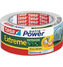 tesa Klebeband extra Power® Extreme OUTDOOR, Folie, 48 mm x 20 m, farblos