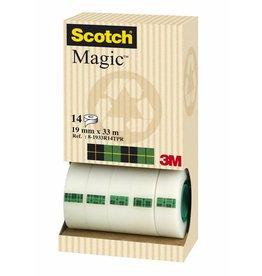 Scotch Klebeband Magic™ Tower Pac, sk, perm., 19mmx33m, tr