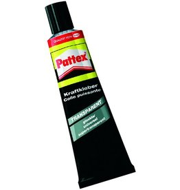 Pattex Klebstoff TRANSPARENT, 50 g, Tube