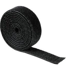 hama Klettband, 19mmx1m, sw
