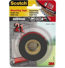 Scotch Montageband extreme, sk, permanent, 19 mm x 1,5 m