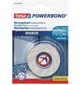 tesa Montageband POWERBOND® MIRROR, sk, permanent, 19 mm x 1,5 m