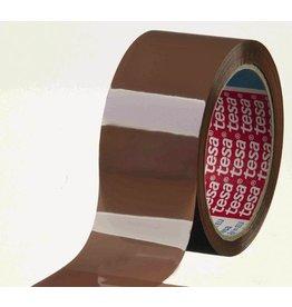 tesa Packband, PP, selbstklebend, 50 mm x 66 m, braun