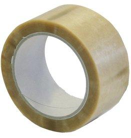 Packband, PVC, 75 mm x 66 m, Kern-Ø: 76 mm, transparent