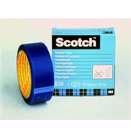 Scotch Siegelband, 35 mm x 33 m, blau
