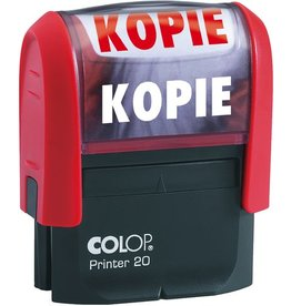 COLOP Stempel 20L, KOPIE, 38x14mm, selbstfärb., Druckf.: ro
