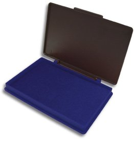 Kores Stempelkissen STAMPO, Kunststoff, Typ: 2, i: 11x7cm, getränkt, blau