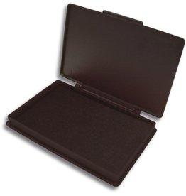 Kores Stempelkissen STAMPO, Kunststoff, Typ: 2, i: 11x7cm, getränkt, schwarz