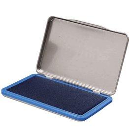 STAPLES Stempelkissen, Metall, Typ: 2, i: 11 x 7 cm, getränkt, blau
