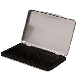 STAPLES Stempelkissen, Metall, Typ: 2, i: 11 x 7 cm, getränkt, schwarz
