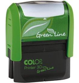 COLOP Textstempel GreenLine, m.Gutschein, 47x18mm, 5z., grün