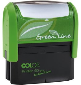 COLOP Textstempel GreenLine, m.Gutschein, 59x23mm, 6z., grün