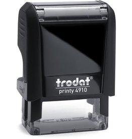 trodat Textstempel Printy mit Gutschein, mechanisch, 26 x 9 mm, schwarz