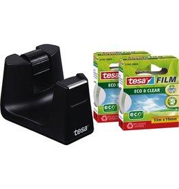 tesa Tischabroller Easy Cut® smart, für Rollen bis 19 mm x 33 m, schwarz