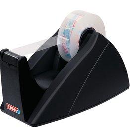 tesa Tischabroller Easy Cut®, leer, für Rollen bis 19 mm x 33 m, schwarz