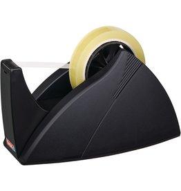 tesa Tischabroller Easy Cut®, leer, für Rollen bis 25 mm x 66 m, schwarz