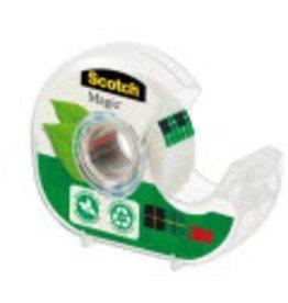 Scotch Tischabroller Vorteilspack, für Rollen bis 19 mm x 20 m, farblos