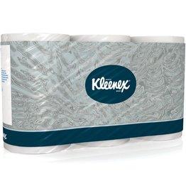 Kleenex Toilettenpapier 350, Tissue, 3lagig, Rolle, 350 Blatt, hochweiß