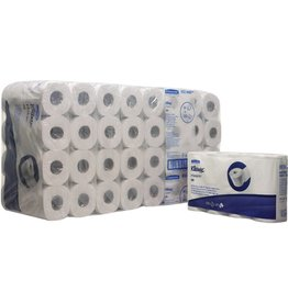 Kleenex Toilettenpapier 350, Tissue, 2lagig, Rolle, 350 Blatt, hochweiß