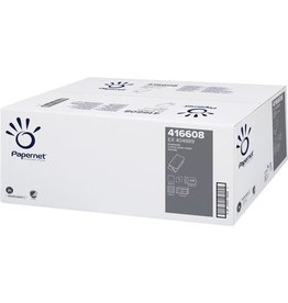 Papernet Papierhandtuch STANDARD, 1lagig, V-Falzung, 24,5 x 23 cm, natur