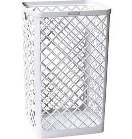KATRIN Abfalleimer, ohne Deckel, 40 l, 320x265x500mm, weiß