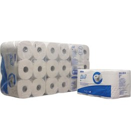 Scott Toilettenpapier 350, Tissue, 3lagig, Rolle, 350 Blatt, hochweiß