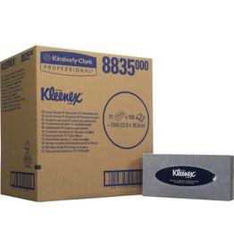 Kleenex Kosmetiktuch, 2lg., 21x100 Tü., 21,5x18,5cm, weiß