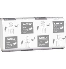 KATRIN Papierhandtuch One Stop M 2 Easy Flush, Interfold, 20,6x25cm, weiß