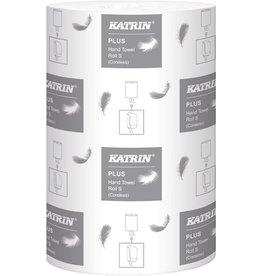 KATRIN Papierhandtuch Plus S2, 2lagig, auf Rolle, 20,5 cm x 60 m, weiß