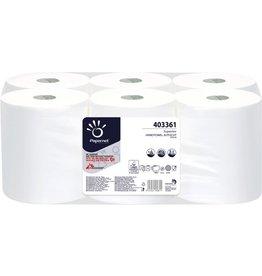 Papernet Papierhandtuch SUPERIOR, 2lagig, auf Rolle, 21 cm x 140 m, weiß