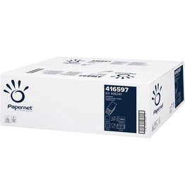 Papernet Papierhandtuch SUPERIOR, 2lagig, W-Falzung, 20,3 x 32 cm, weiß