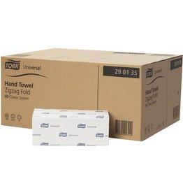 TORK Papierhandtuch Universal, 1lg., ZZ-Falz., 20x200Tü., 25x23cm, grün