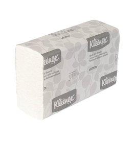 Kleenex Papierhandtuch, 1lagig, Multifold, 16 x 150 Tücher, 23,5 x 24 cm, weiß