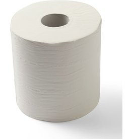 STAPLES Papierhandtuch, 2lagig, auf Rolle, 19,8 cm x 159,75 m, weiß
