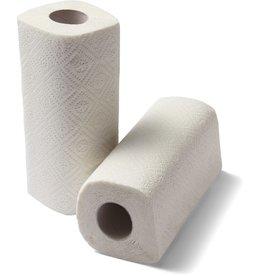 STAPLES Papierhandtuch, 2lagig, auf Rolle, 22,9 cm x 11,5 m, weiß