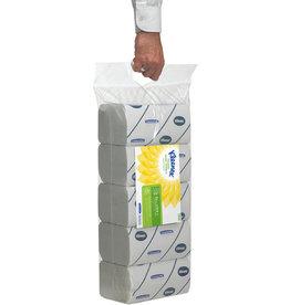 Kimberly-Clark Professional* Papierhandtuch, 2lg., Interfold, 5 x 124 Tücher, hochweiß