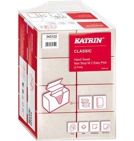 KATRIN Papierhandtuch, EasyPick, Classic Non Stop M2, 2lg., 25,5x24cm, weiß