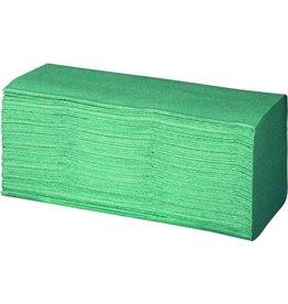 racon Papierhandtuch, Krepp(RC), ZZ-Falz., 20x230 Tü., 25x23cm, grün