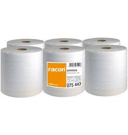 racon Papierhandtuch, Zellstoff, 2lg., Rolle, 20 cm x 140 m, weiß